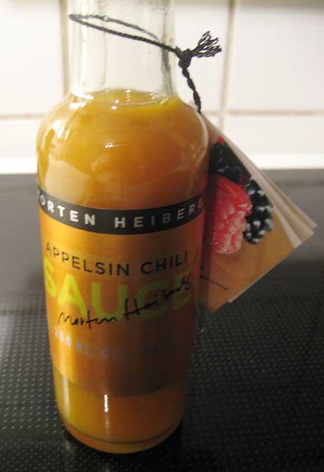 Appelsin og chili sauce