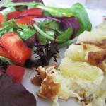 Æggekagen med lidt salat zoom