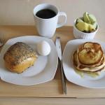 Morgenmad på sengen