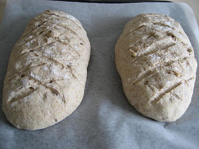 Brød klar til ovnen