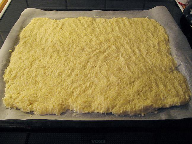 Kartoffelrouladen klar til ovnen