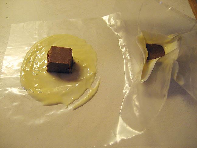 Chokoladekurven formes
