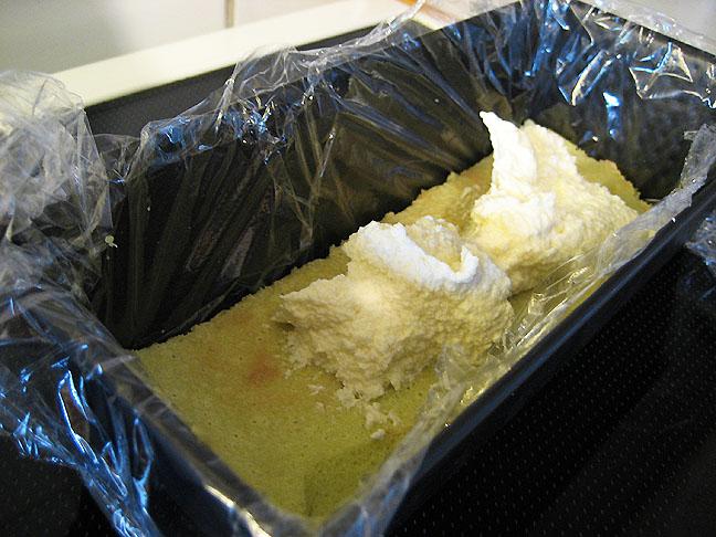 Formning af kagen