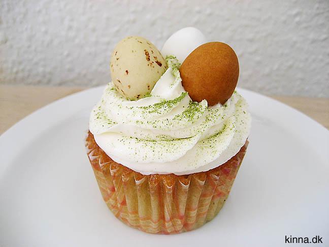 Pyntet cupcake