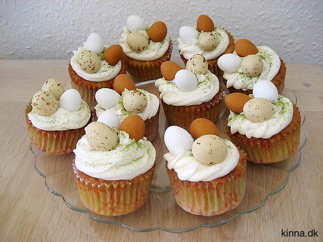Pyntede cupcakes