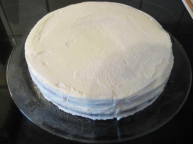 Den opsmurte kage