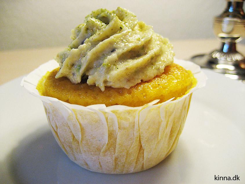Den færdige muffin