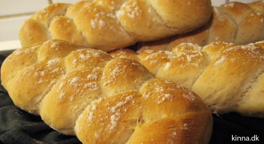 De færdigbagte brød