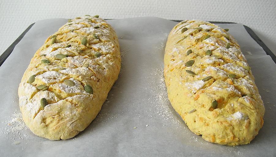 Brød inden hævning