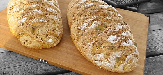 De bagte brød