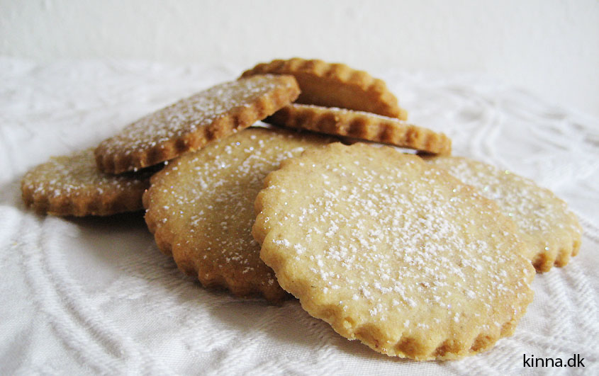 De færdigbagte småkager