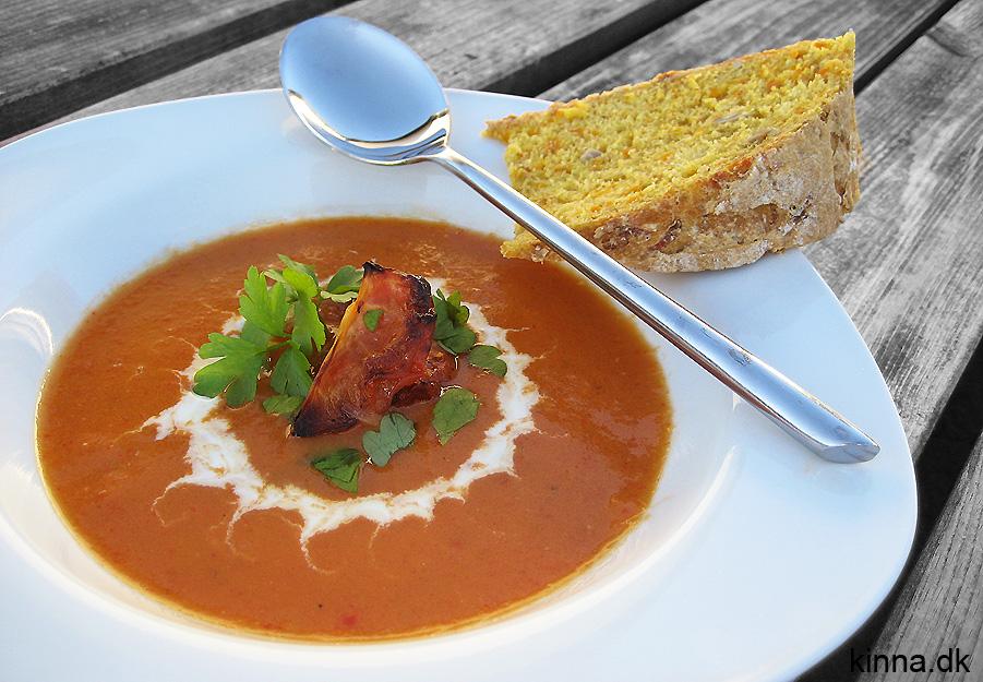 Ovnbagt tomatsuppe