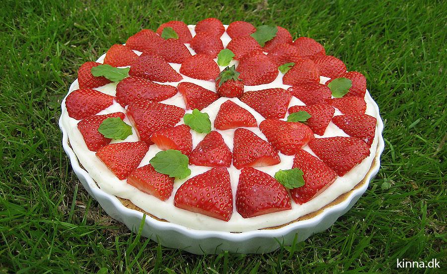 Jordbærtærten