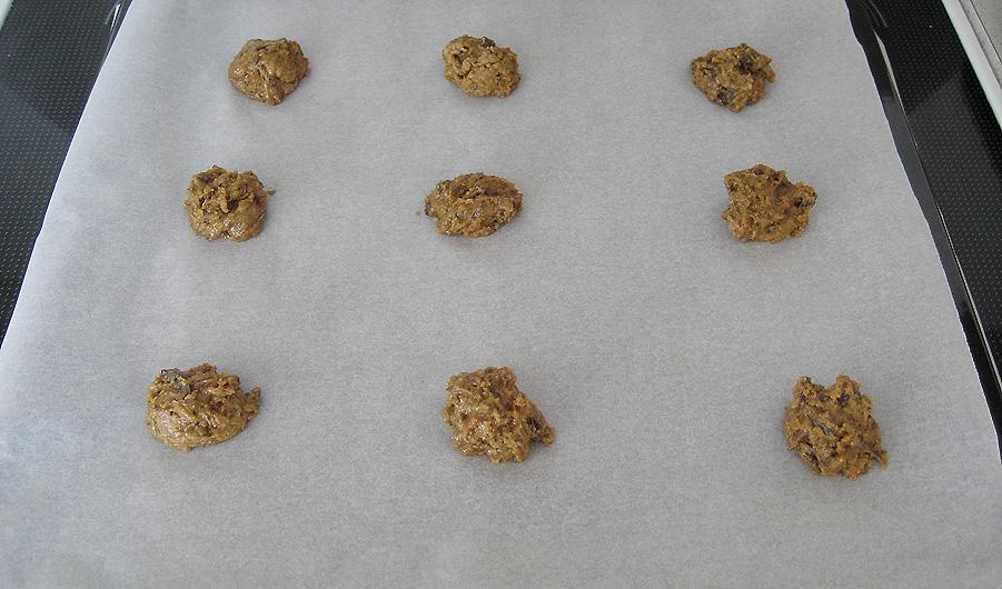 Cookies klar til ovnen