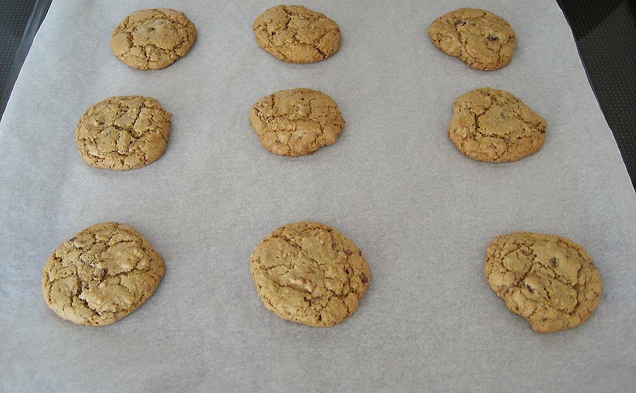 De færdigbagte cookies