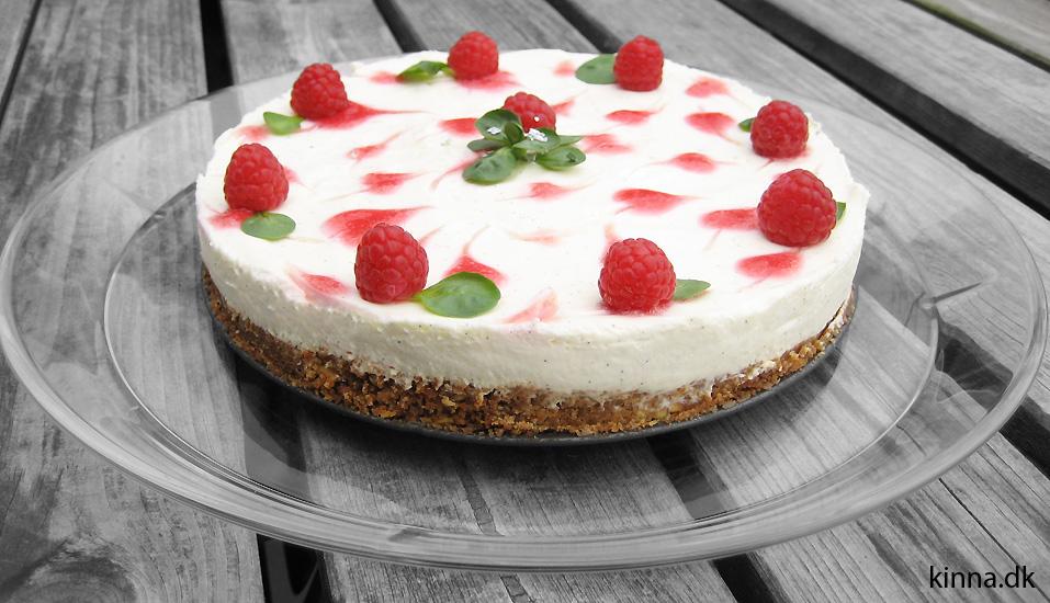 Den færdige cheesecake