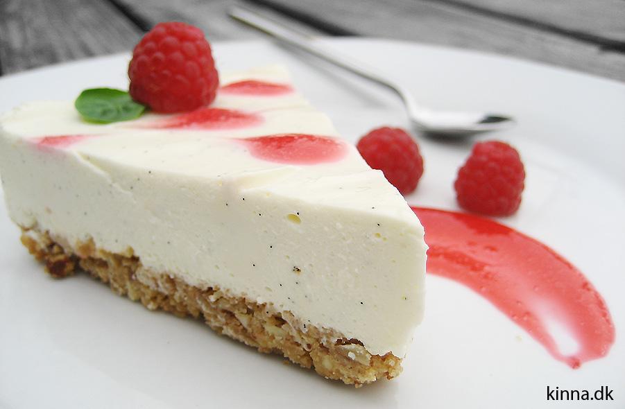 Et stykke cheesecake